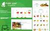 "Modello OpenCart Responsive #80477 ""Pure Leaf - The Shopping Mall"" Screenshot grande"