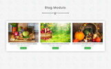 """Modello OpenCart Responsive #80477 """"Pure Leaf - The Shopping Mall"""""""