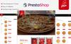 "Tema PrestaShop Responsive #82509 ""Pizza -"" Screenshot grande"