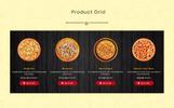 Responsive Pizza - Prestashop Teması
