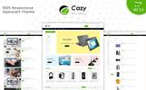 """Responzivní OpenCart šablona """"Cazy - The Shopping Mall"""""""