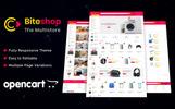 Biteshop Electronic Store OpenCart Template