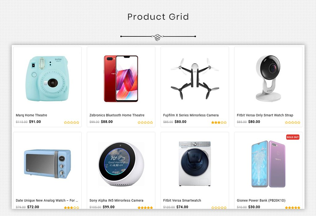 Shoplense - Premium Electronics Store OpenCart Template
