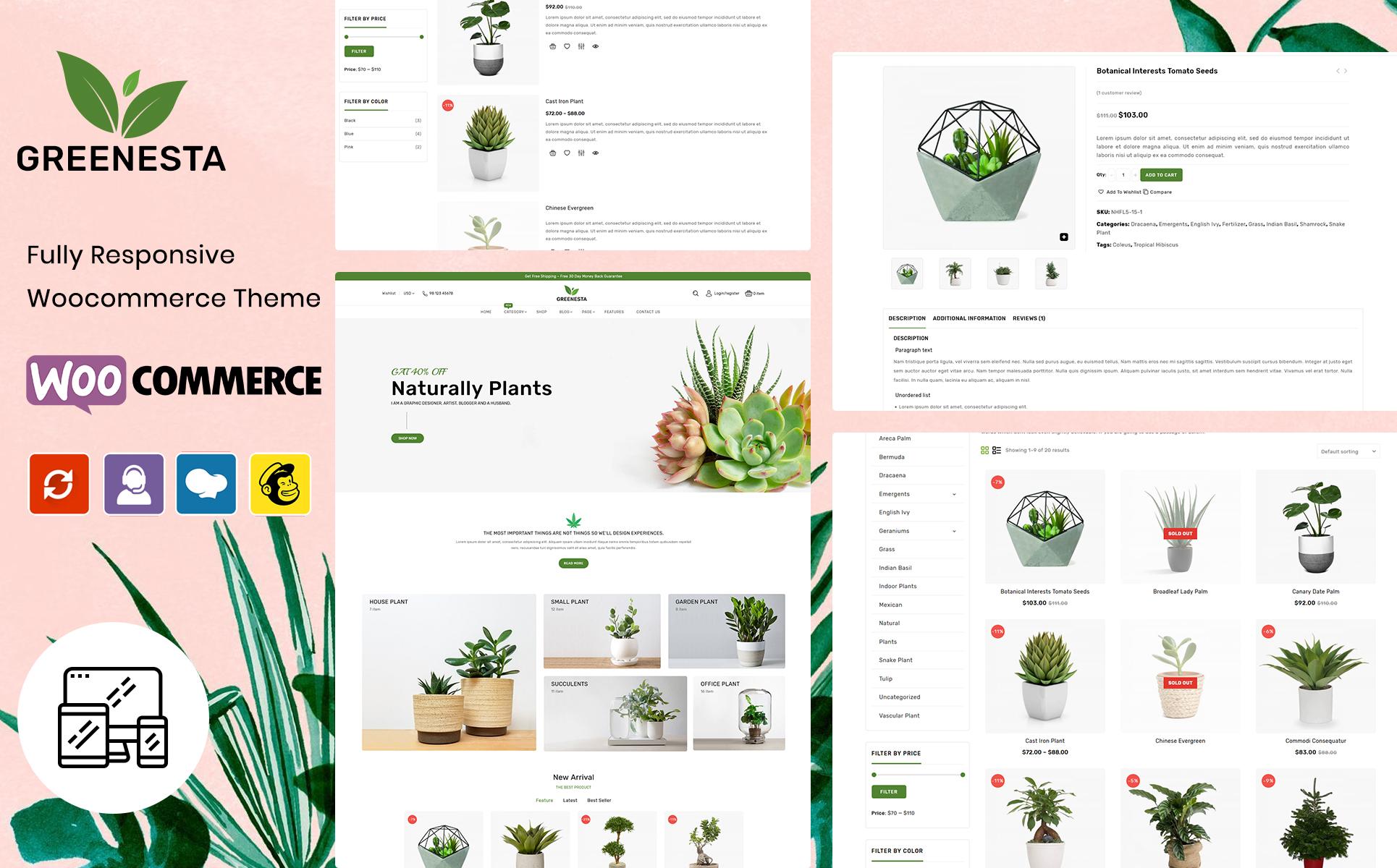 Greenesta Organic - Food & Grocery Store WooCommerce Theme