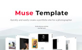 The best portfolio of photographer Kelvin Muse Template