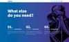 THE CREW - Horizontal Parallax / Landing Page Muse Template Big Screenshot