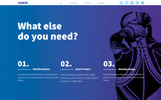THE CREW - Horizontal Parallax / Landing Page Muse Template