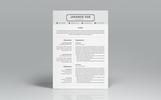 Karanf Doe Clean Resume Template