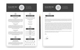 2 Pages Glalink Resume Template