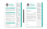 Bryen Hawkid Designer/Developer Resume Template