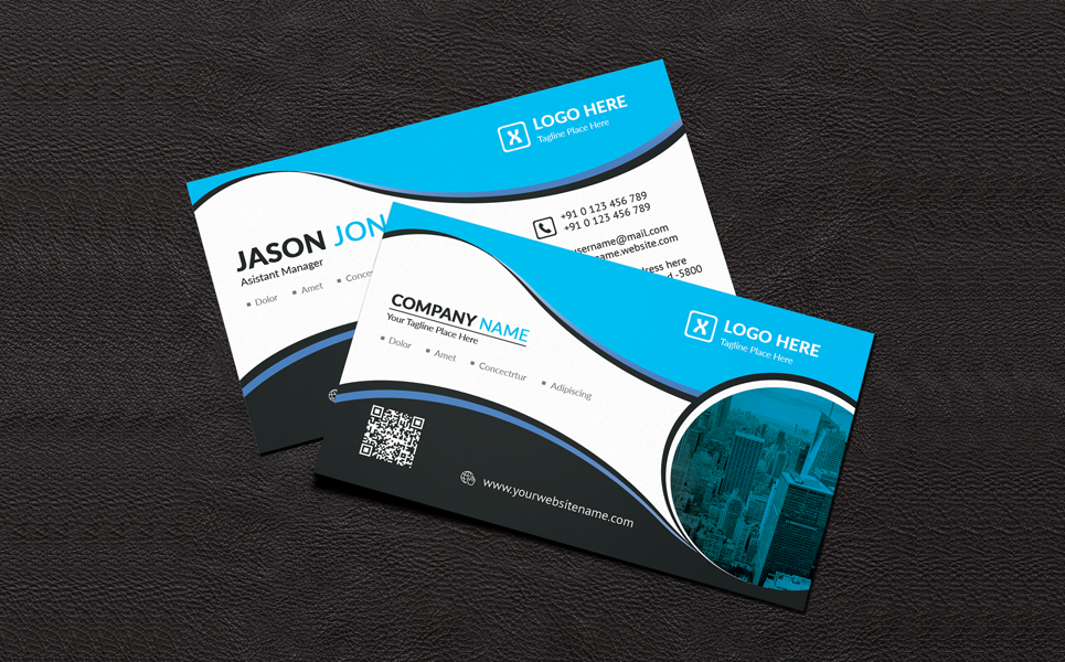 Jason Jon Personal Business Card Corporate Identity Template #69624