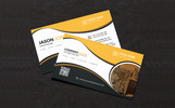 Jason Jon Personal Business Card Márkastílus sablon