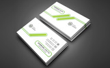 Johnish Smith Personal Business Card Corporate Identity Template