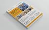 """Creative Construction Flyer"" Bedrijfsidentiteit template Groot  Screenshot"