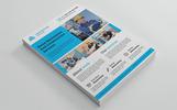 """Creative Construction Flyer"" Bedrijfsidentiteit template"