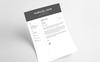 Kabiles John Designer & Developer Önéletrajz sablon Nagy méretű képernyőkép