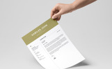 Kabiles John Designer & Developer Önéletrajz sablon