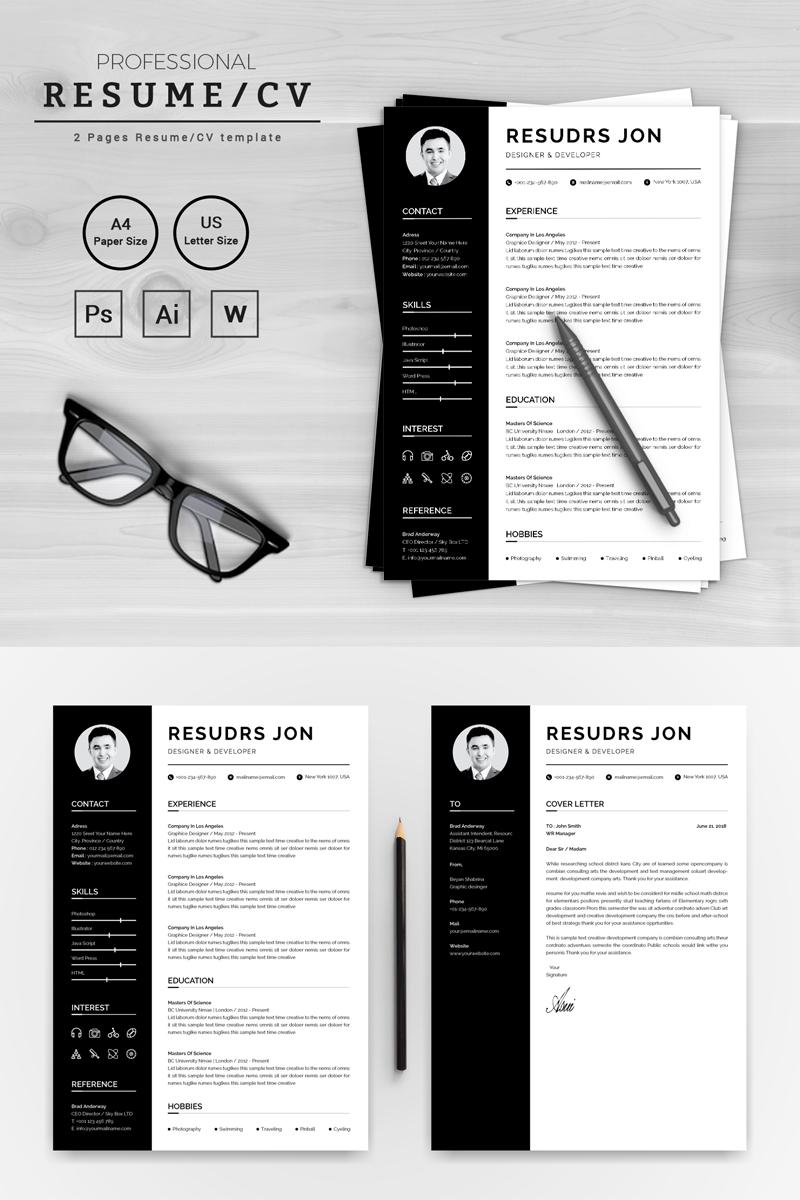 bébiszitter önéletrajz minta Prémium Resudrs Jon Designer & Developer Önéletrajz sablon 72096 bébiszitter önéletrajz minta