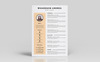 Whardson Andres Graphic Designer Resume Template Big Screenshot