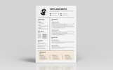 Wetlars Smith Designer & Developer Resume Template