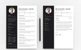 Micksied John Resume Template
