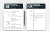 Graphics Resume Template