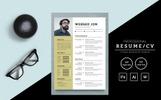 "Modello CV #80933 ""Websed Jon"""