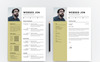 "Modello CV #80933 ""Websed Jon"" Screenshot grande"