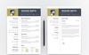 """Winaro Smith"" modèle de CV  Grande capture d'écran"