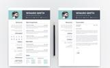 """""""Winaro Smith"""" modèle de CV"""