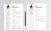 Alex Williamson Resume Template Big Screenshot