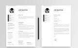 Joe Baston Resume Template
