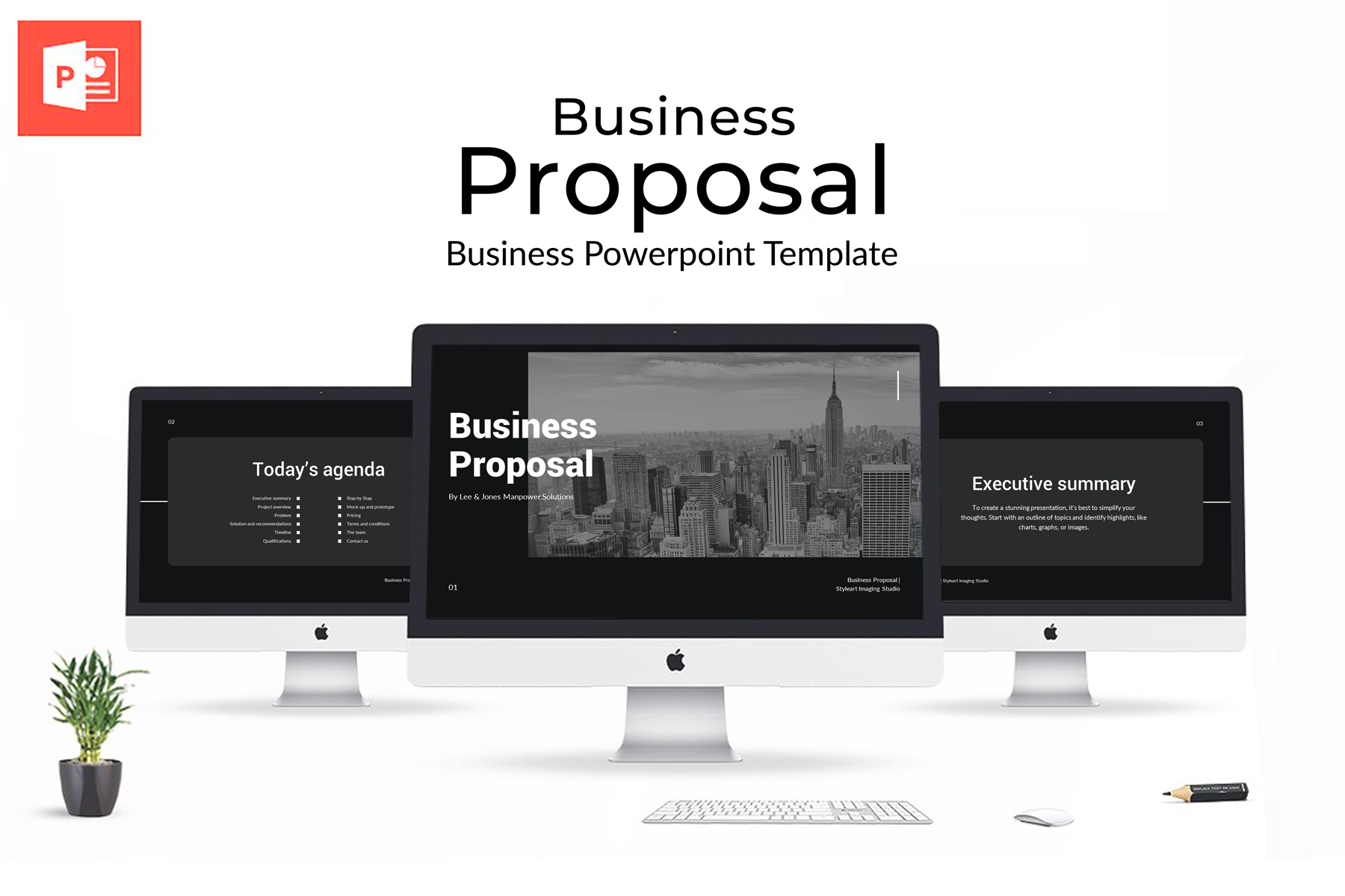 Business Proposal Presentation PowerPoint Template