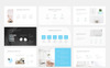 Clean Minimal Presentation PowerPoint Template Big Screenshot