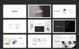 The Business Minimal Presentation PowerPoint Template