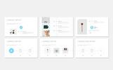 Szablon PowerPoint Clean Creative Portfolio Presentation #78998