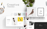 "PowerPoint Vorlage namens ""Dove"""