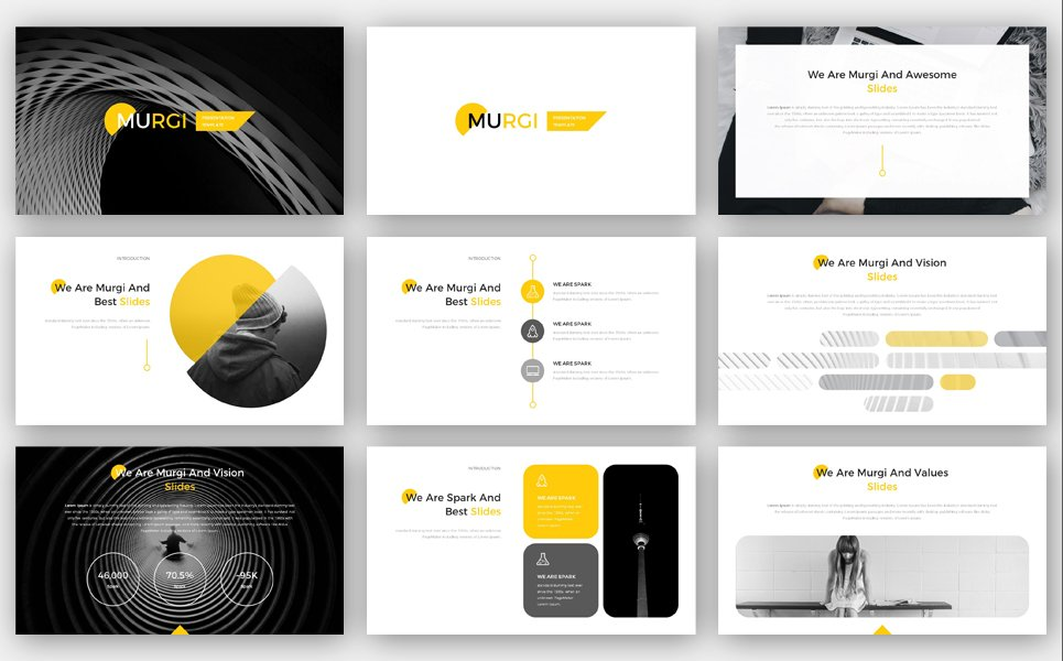 Murgi PowerPoint Template