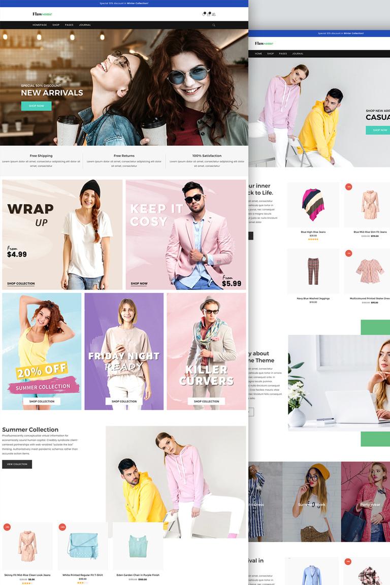 Flawsome - Responsive Fashion Clothing WooCommerce Theme