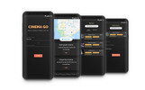 Cinema Go - UI/UX App UI Elements