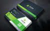 Black Coporate Business Card Corporate Identity Template Big Screenshot