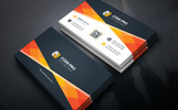 Minimal Business Card - Corporate Identity Template