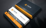Clean & Green Creative Business Card Corporate Identity Template