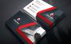 Fashion Shop Corporate Business Card Corporate Identity Template Big Screenshot