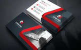 Fashion Shop Corporate Business Card Corporate Identity Template
