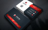 Creative Individual Business Card Corporate Identity Template Big Screenshot
