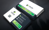 Cafe Link Business Card Corporate Identity Template