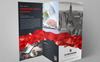 GLOBCHROME- Trifold Brochure Corporate Identity Template Big Screenshot