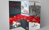 GLOBCHROME- Trifold Brochure Corporate Identity Template