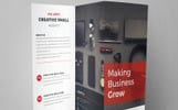 CAgency-Orporate Trifold Brochure Corporate Identity Template